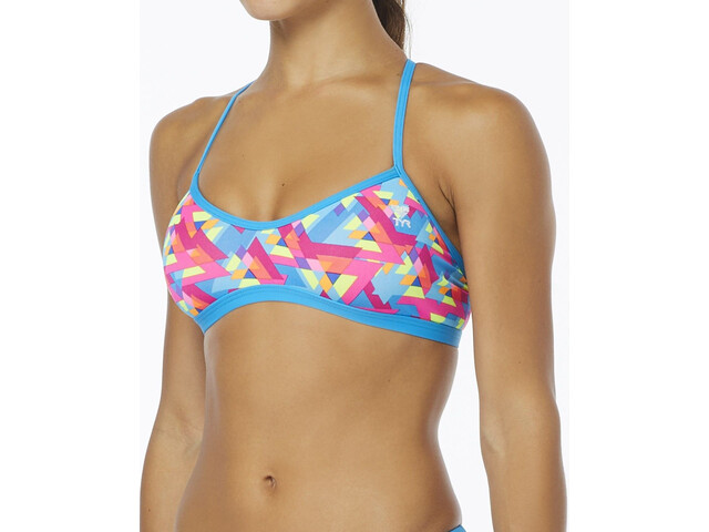 TYR Le Reve Trinity Bikini Dam turkos/flerfärgad